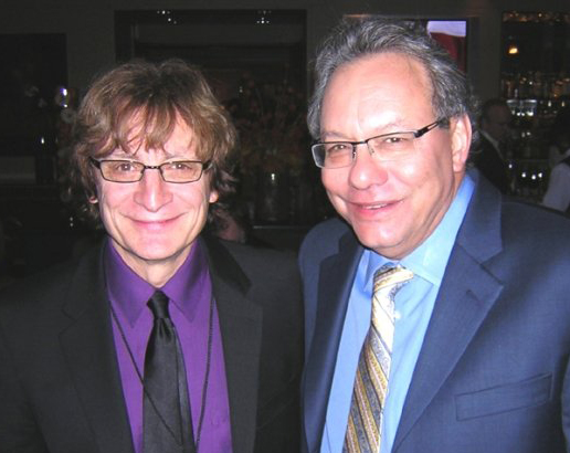 Crispin with Lewis Black