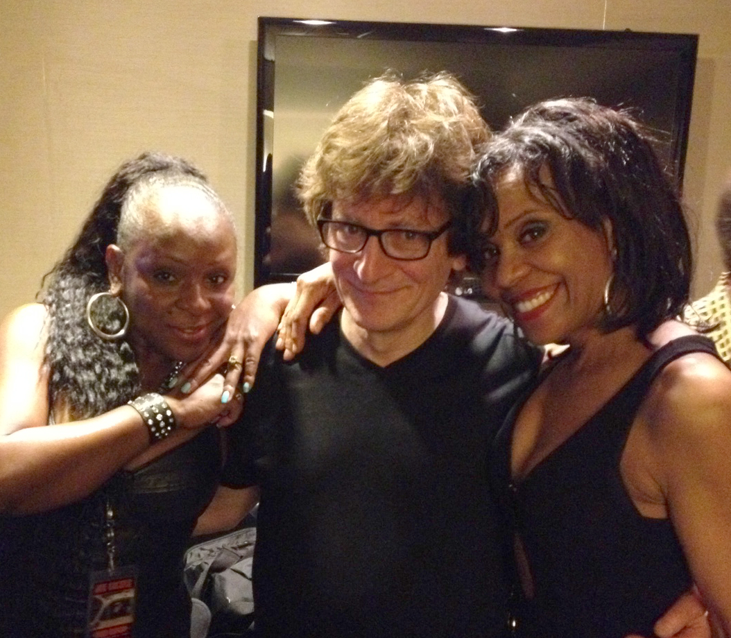 Andricka Hall and Cheryl Freeman (J Geils)