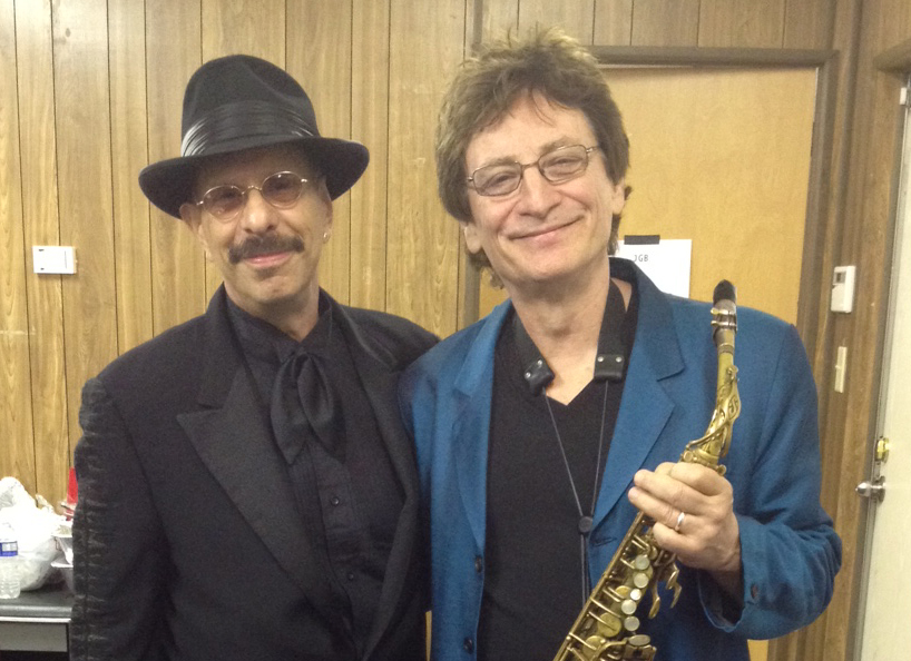 Crispin Cioe with Danny Klein (J Geils)