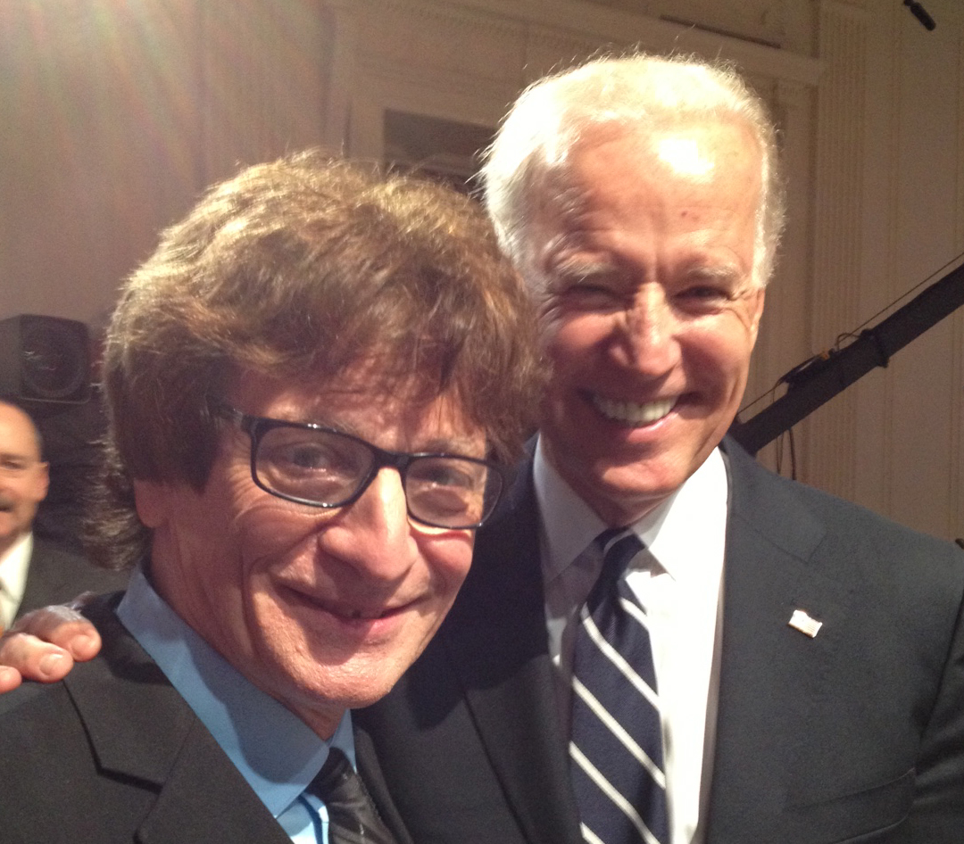 Crispin Cioe with Vice President Joe Biden