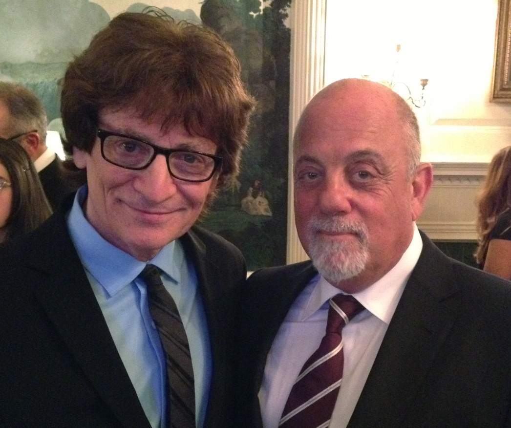 Billy Joel at the White House (Gershwin Prize honoring Carol King0