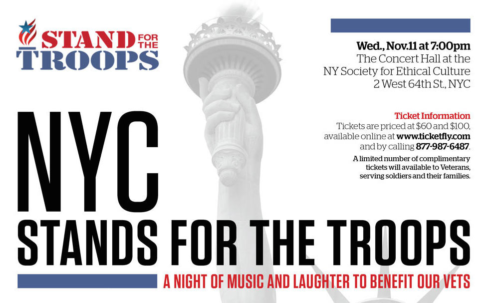 Crispin Cioe NYC Poster 2 Stand For The Troops
